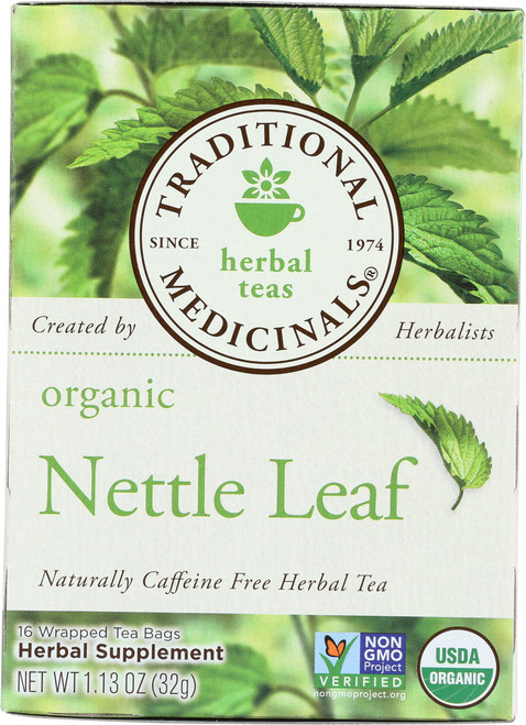 Bagged Tea Nettle Leaf Caffeine Free