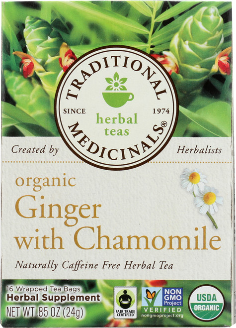 Bagged Tea Ginger With Chamomile