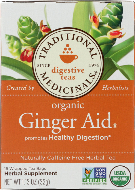 Herbal Tea Ginger Aid