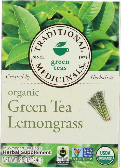 Bagged Tea Green Tea Lemongrass