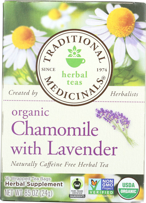 Herbal Tea Chamomile With Lavender