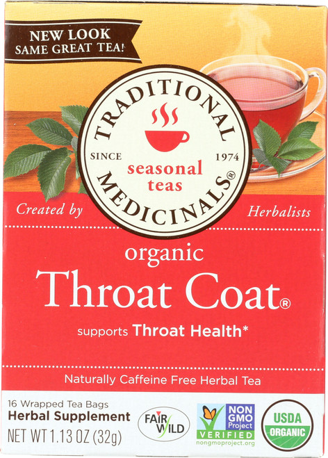 Bagged Tea Throat Coat®