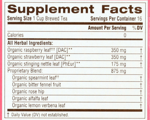 Bagged Tea Pregnancy® Tea 16 Tea Bag 0.99oz