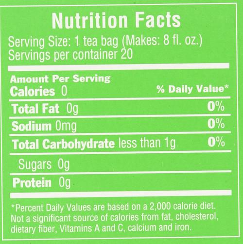 Tea Decaf Green Tea 20 Tea Bags 1.34oz