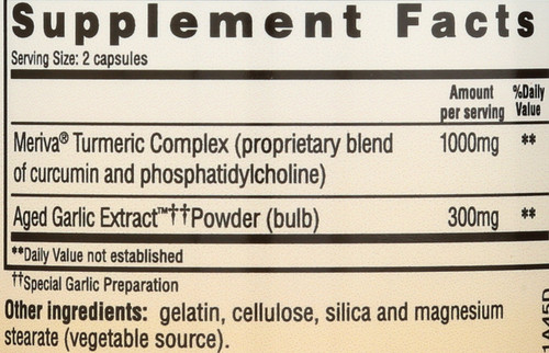 Kyolic Healthy Inflammation Response* Curcumin 50 Capsules