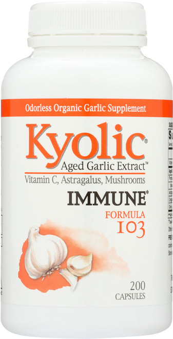 Kyolic Formula 103 Immune Vit C, Astragalus