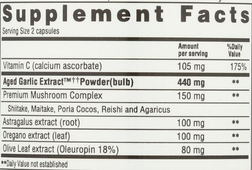 Kyolic Formula 103 Immune Vit C, Astragalus Formula 103 200 Capsules