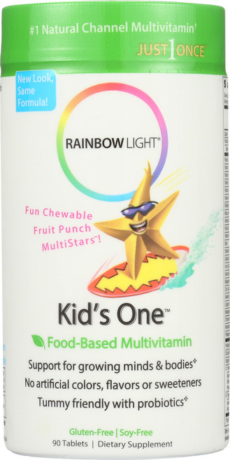 Kid'S Chewable Multivitamin Fruit Punch