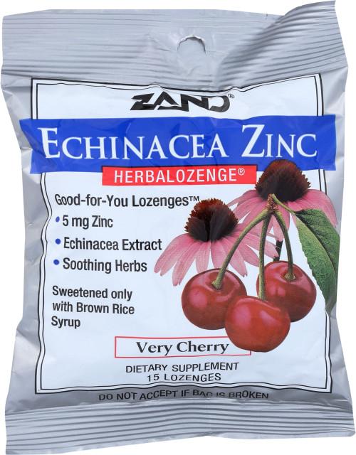 Herbal Lozenge Echinacea Zinc