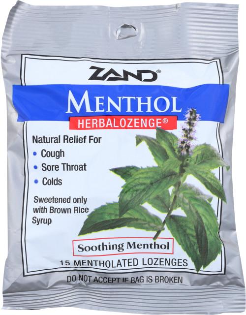 Herbal Lozenge Menthol