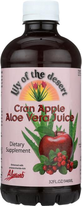Aloe Vera Juice Cran Apple