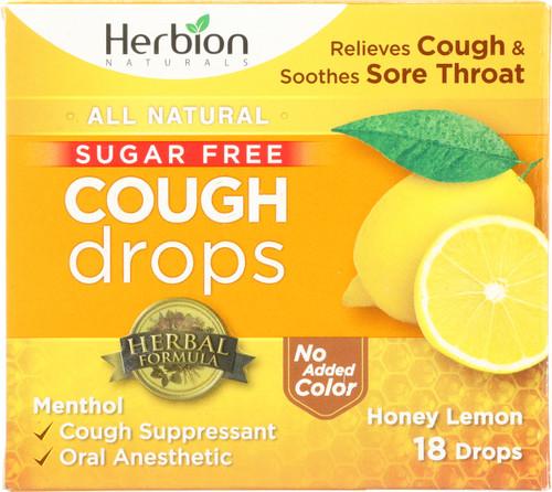 Cough Drops Honey Lemon