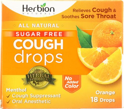 Cough Drops Orange