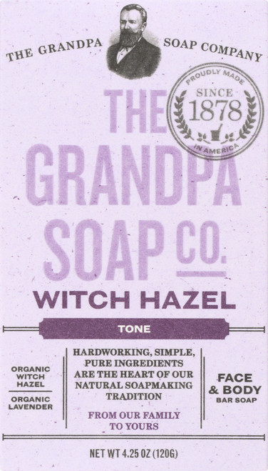 Face & Body Bar Soap Witch Hazel