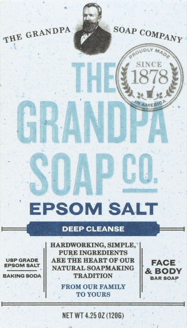 Face & Body Bar Soap Epsom Salt