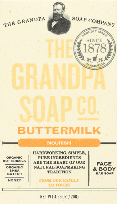 Face & Body Bar Soap Buttermilk