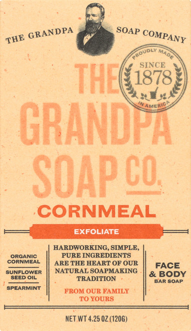 Face & Body Bar Soap Cornmeal
