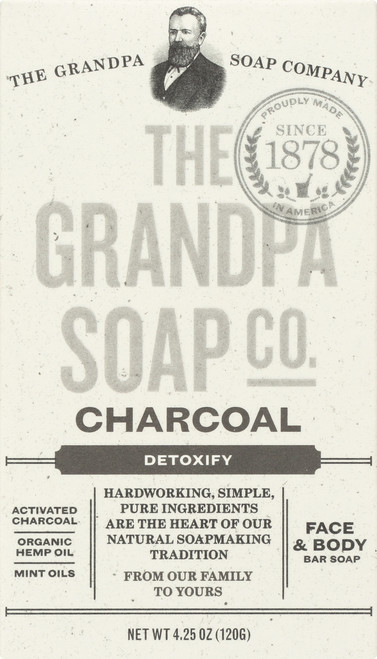 Face & Body Bar Soap Charcoal