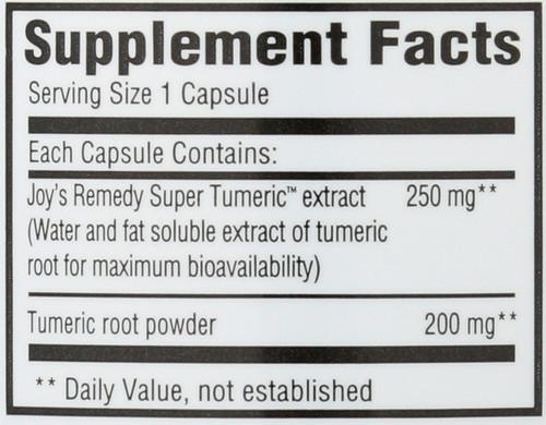 Dietary Supplement Super Tumeric 60 Vegetarian Capsule