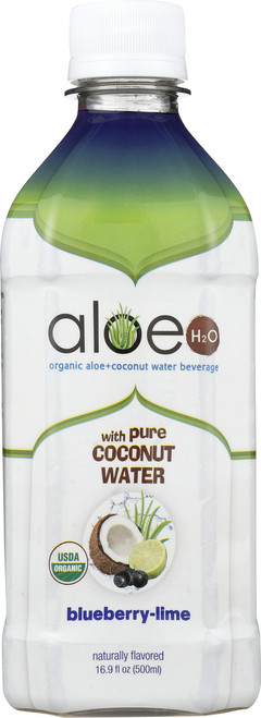 Aloe H2O With Coconut Water Blueberry Lime