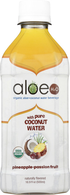 Aloe H2O With Coconut Water Passion Fruit Pineapple