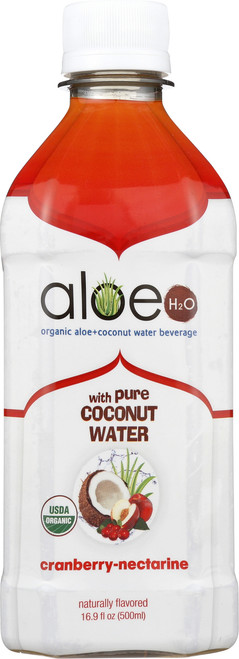 Aloe H2O With Coconut Water Cranberry Nectarine