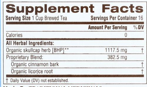 Bagged Tea Stress Ease® Cinnamon 16 Tea Bag 0.85oz