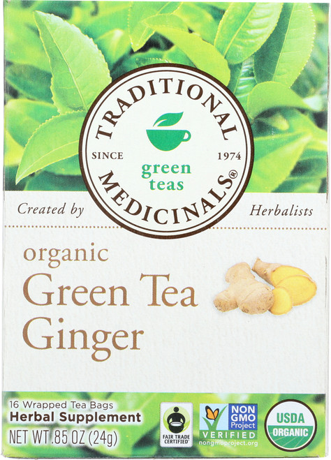 Bagged Tea Green Tea Ginger