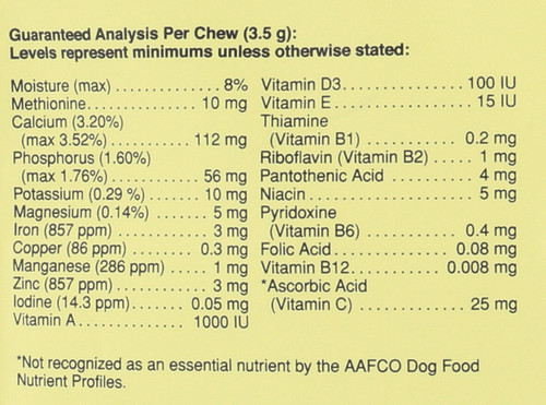 Daily Multi For Dogs Of All Sizes 30 Chews 30 Chewables 3.7oz