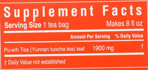 Tea Cholesterid™ Pu-Erh 20 Tea Bags 1.34oz