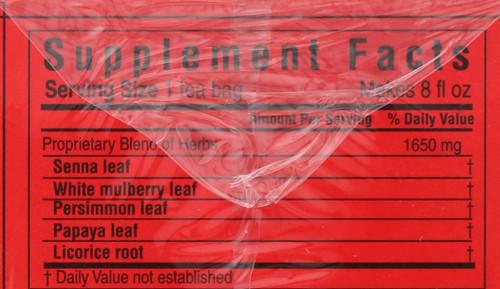 Tea Super Slimming Tea 20 Tea Bags 1.16oz