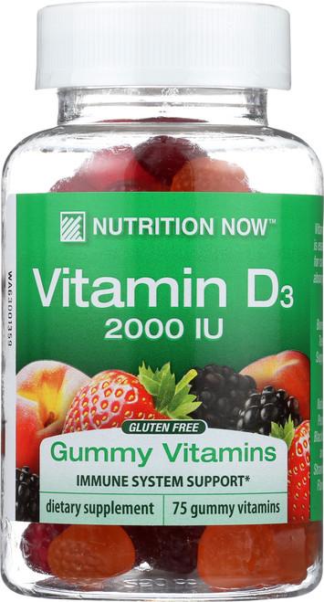 Gummy Vitamins Vitamin D3 2,000Iu