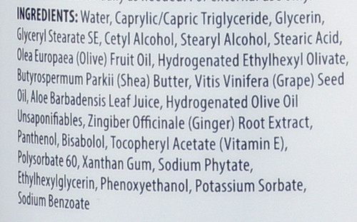 Body Lotion Olive & Aloe Fragrance Free 32 Fl oz 946 Ml