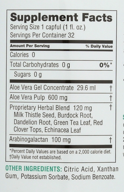 Detoxifying Drink  1 Qt 32 Fl oz