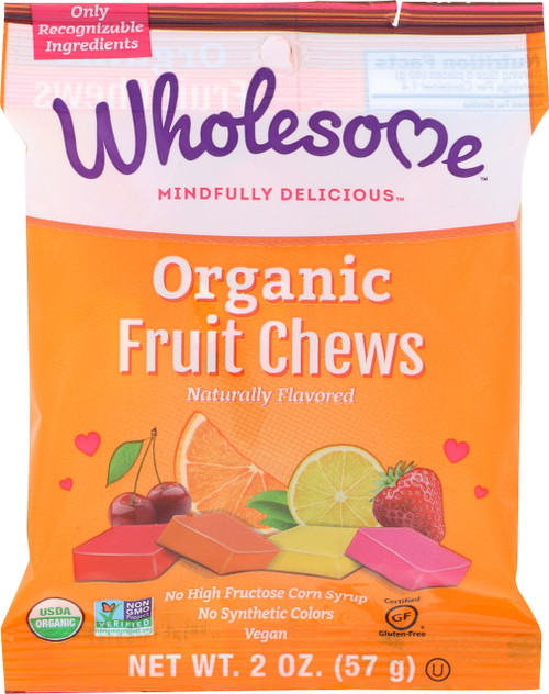 Fruit Chews Naturally Flavored