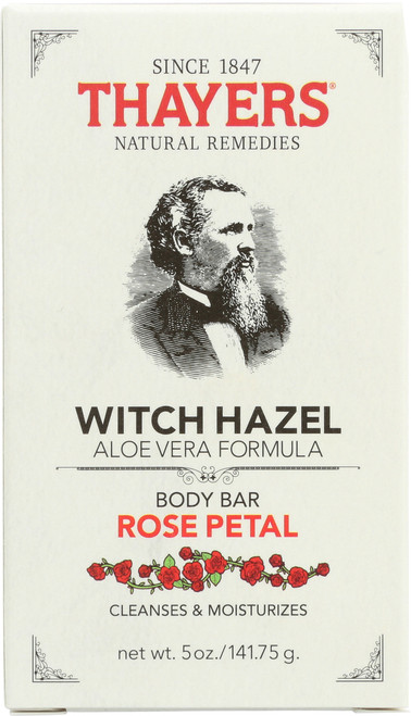 Witch Hazel Body Bar Rose Petal