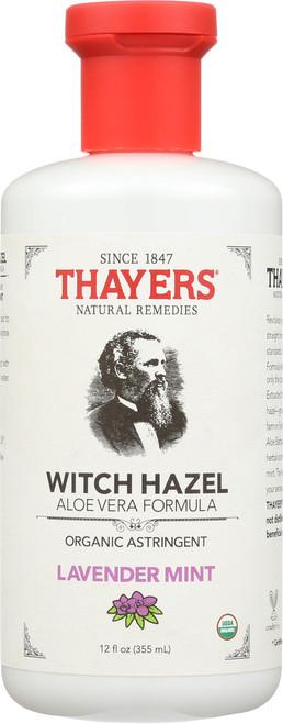 Witch Hazel Organic Astringent Lavender Mint