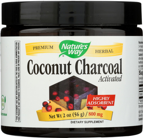 Activated Coconut Charcoal Cleanse/Detox