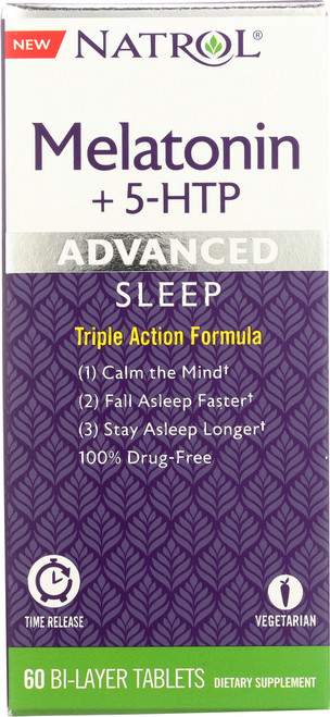 Vitamin/Supplements Advanced Sleep Melatonin + 5-Htp