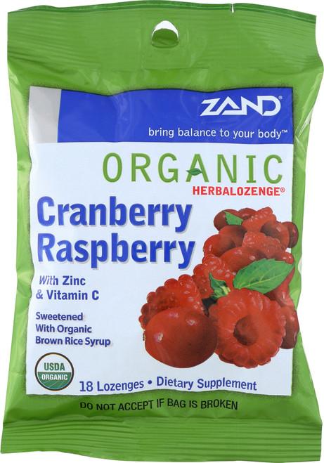 Herbalozenge-Cranberry Raspberry-Org