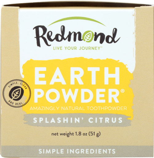 Earthpowder Toothpowder Splashin' Citrus
