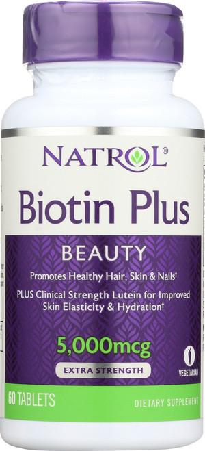 Vitamin/Supplements Biotin Plus With Lutein