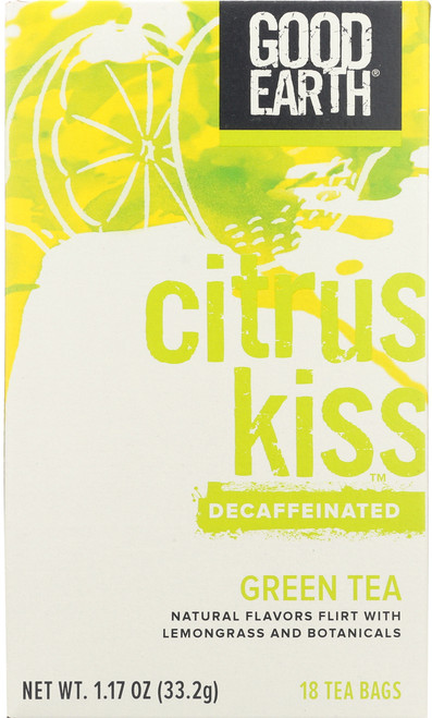 Tea Citrus Kiss™ Decaf Bag Green Tea