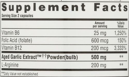 Formula 108 Total Heart Health B6, B12, Folic Acid 100 Capsules