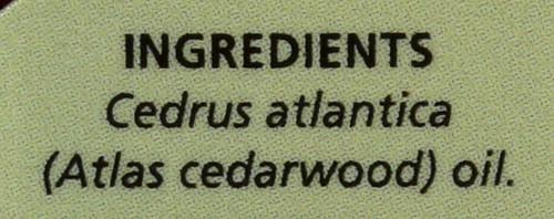 Atlas Cedarwood Essential Oil  0.5 Fl oz 15 Ml