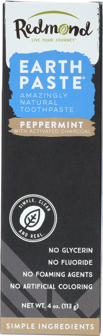 Earthpaste Toothpaste Peppermint With Charcoal