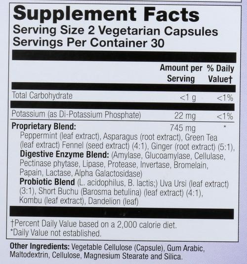 Bloat-X™  60 Vegetarian Capsules
