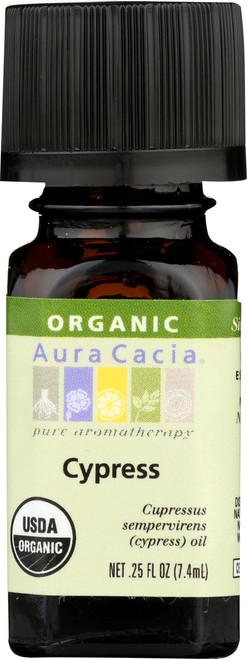 Cypress Certified Organic Essential Oil