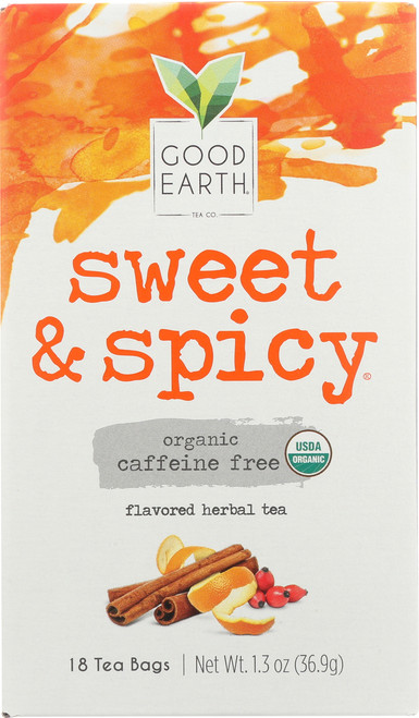 Tea Sweet Spicy Caff Free Organic