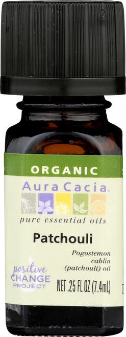 Dark Patchouli Certified Organic Essential Oil